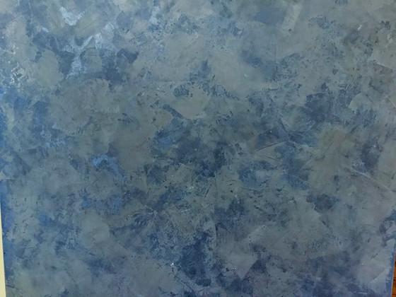 Venetian plaster—sample for a domed ceiling