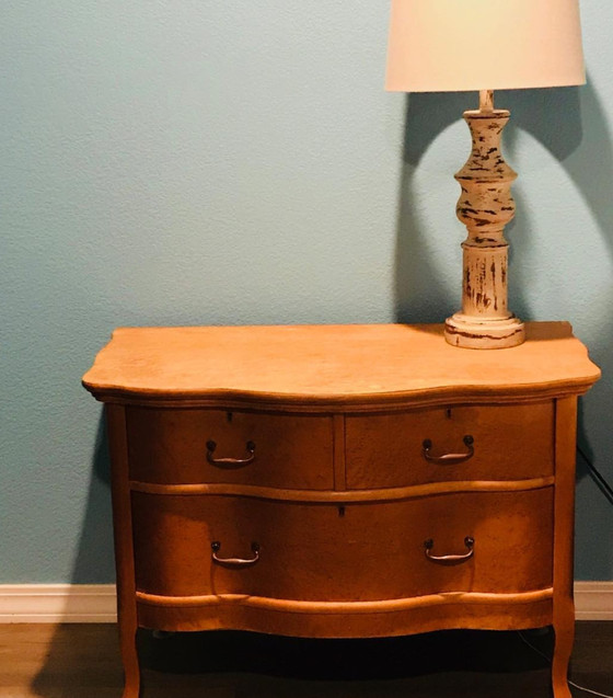 Before and after: a bedside table story
