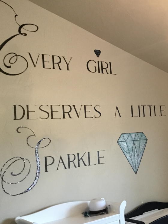 Tiffany inspired nursery for a lucky little lady!