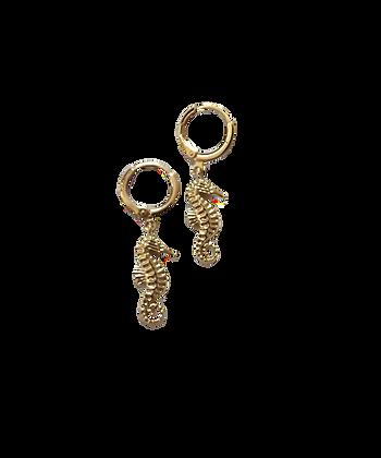 Hippocampi Earrings