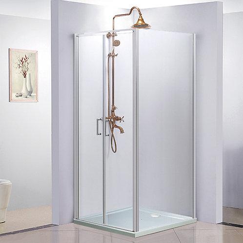Restocking - 900mm Semi Frameless Showerscreen