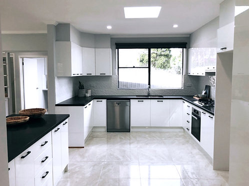 Surry Hills - High gloss 2pak kitchen