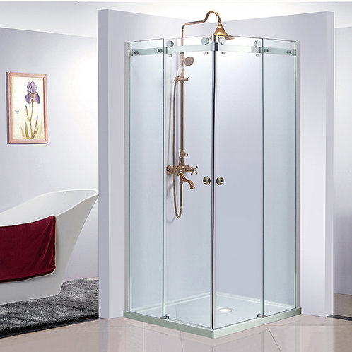 Restocking - 900mm Frameless 10mm Showerscreen