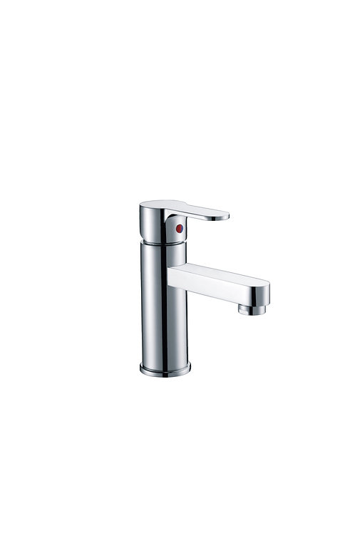 Brass basin mixer