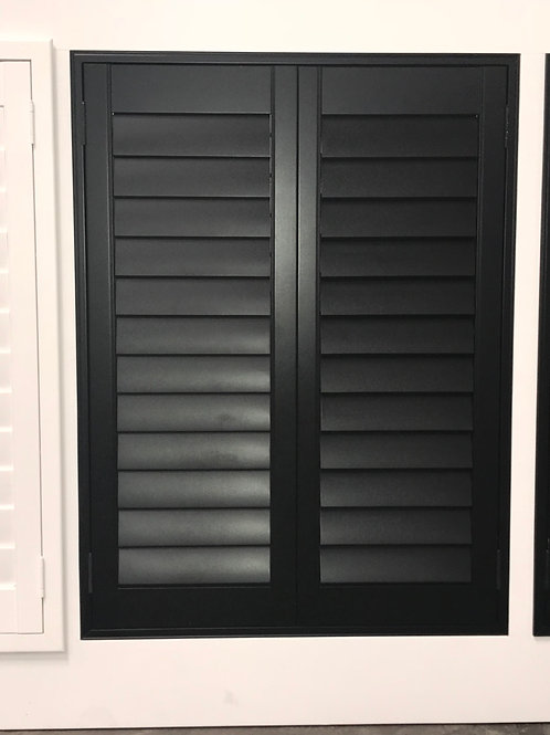 Regular Shape PVC/ Basswood Shutters 25 colours available