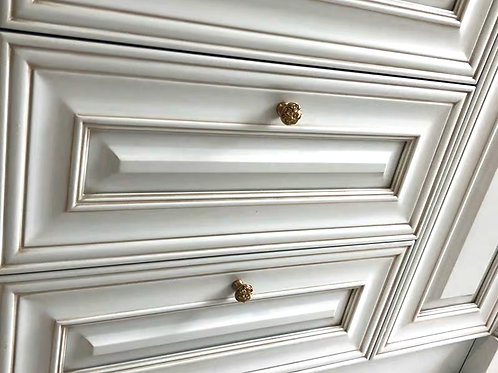 French Provincial shaker style drawer