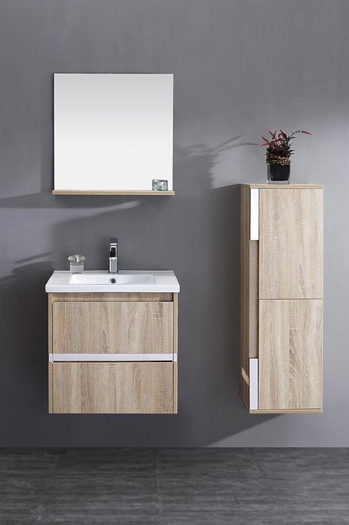Wall Hung/Free Stand Classic 600mm Soft-Close Vanity + Ceramic Basin Top