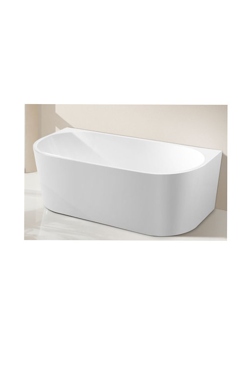 Back to wall premier bathtub