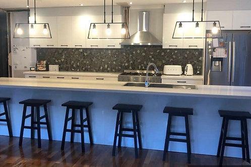 Berwick - High gloss 2pak kitchen