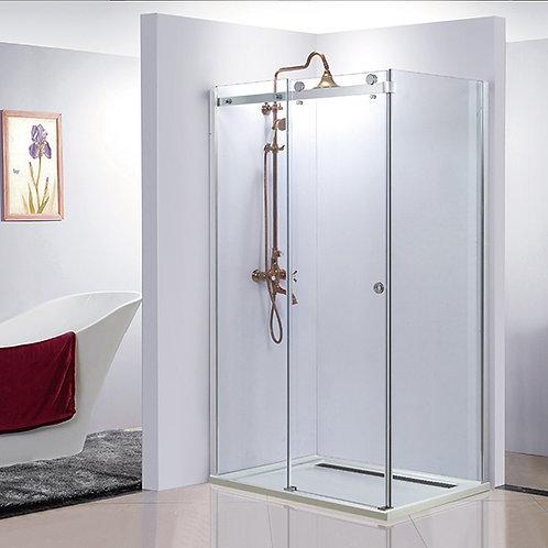 1200mm Frameless 10mm Showerscreen
