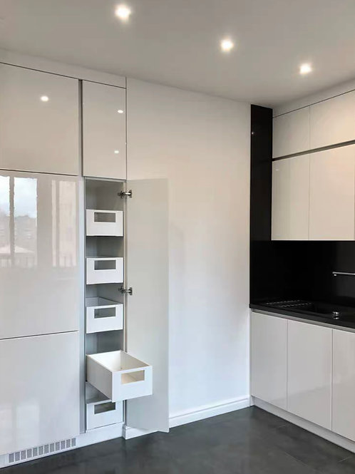 Rosebud - High gloss 2pak kitchen