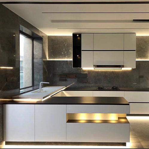 St Kilda Road - Penthouse custom kitchen