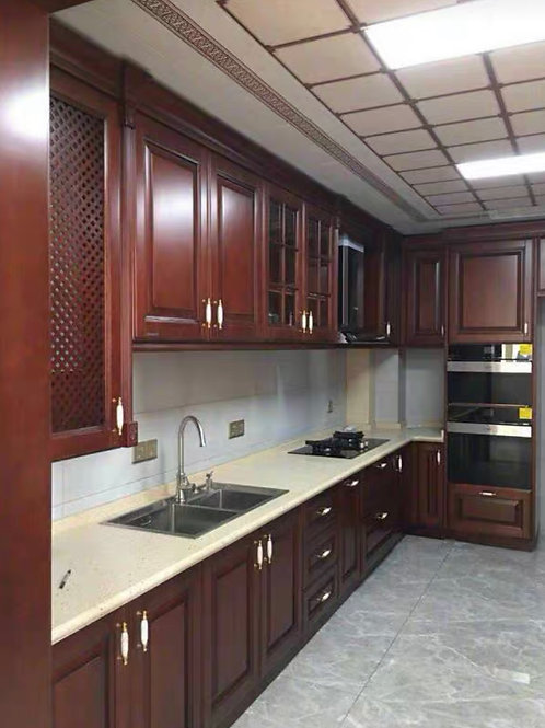 Doncaster - Mahogany custom kitchen