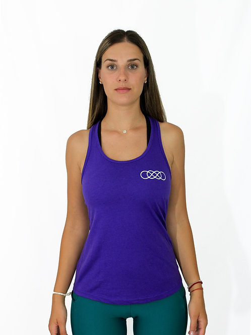Purple Tank -Women