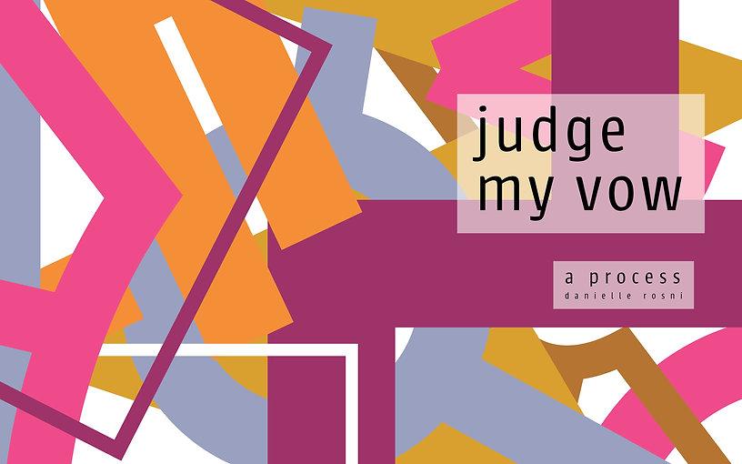 Judge My Vow