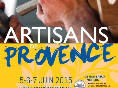 Salon Artisans de Provence 2015