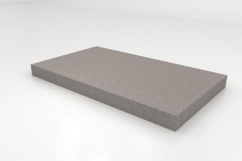Platform with Needle Punch Carpet - Light Gray