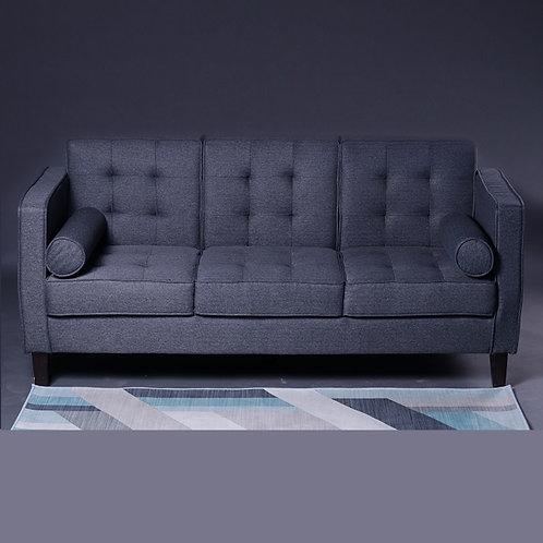 3-Seater Gray Sofa