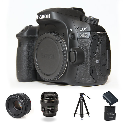 CANON 80D PACKAGE