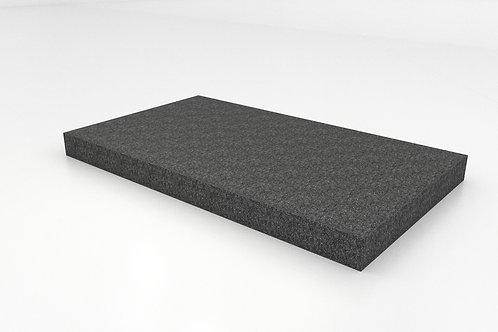 Platform with Needle Punch Carpet - Dark Gray