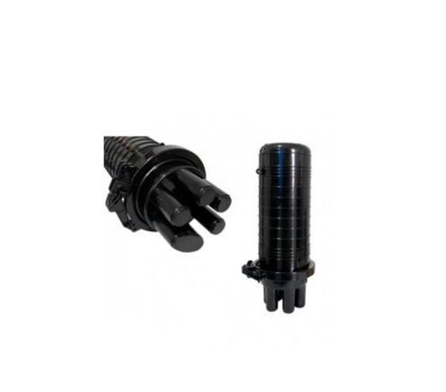 4b9b70435c Caixa Emenda Fibra Óptica 12/24fo Mini Ceo Termocontrátio UNIFIBRA