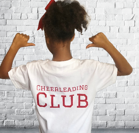Cheerleading Club Team T-shirt
