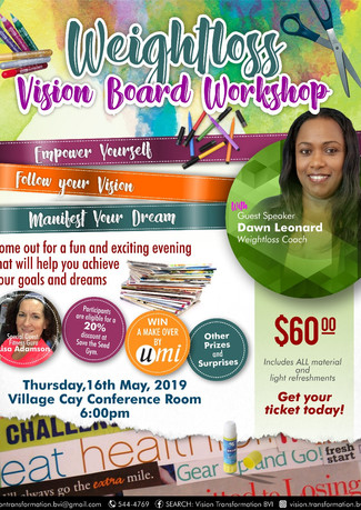 Wellness Vision Board Workshop