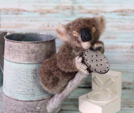 Baby Koala Sculpture