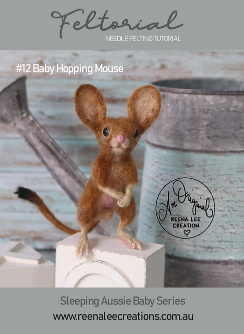 #12 Baby Hopping Mouse Feltorial