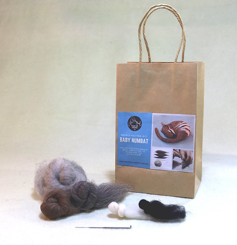 Baby Numbat Felting Kit
