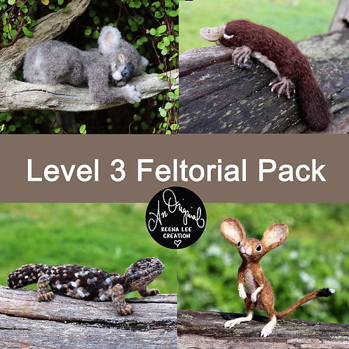 Level 3 PACK, Koala, Platypus, Shingleback, Hopping Mouse