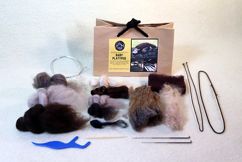 Baby Platypus Felting Kit