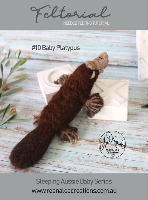 #10 Baby Platypus Feltorial