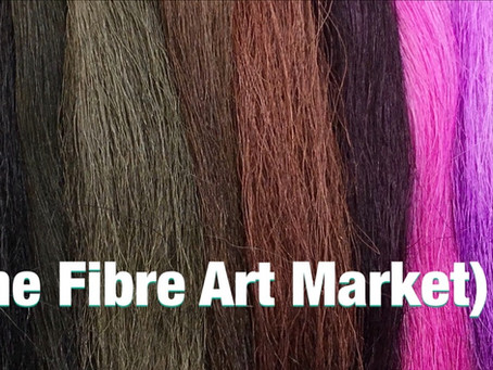 the FAM (the Fibre Art Market) LIVE.