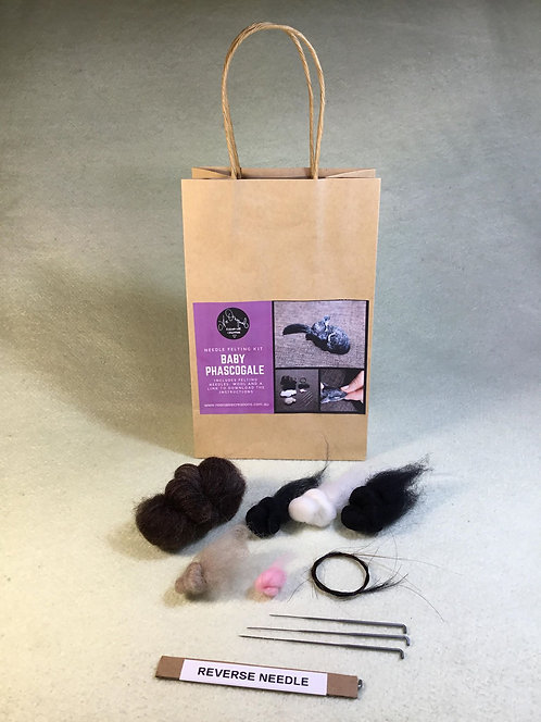 Baby Phascogale Felting Kit