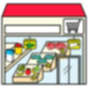 tiendas de alimentación accesibles con pictogramas por ilearntap en Barcelona