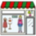tienda de moda de mujer accesibles con pictogramas por ilearntap en Barcelona