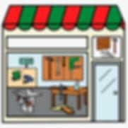 tiendas de bricolaje accesibles con pictogramas por ilearntap en Barcelona