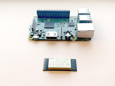 RaspberryPi + Cricket + WiFi + MQTT