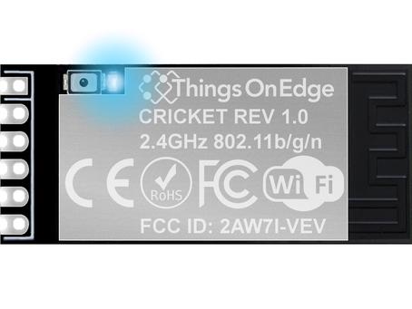 New IOT Cricket - WiFi module