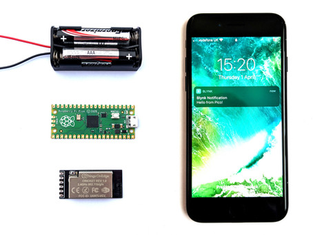 Pico + Cricket WiFi + Blynk phone alerts