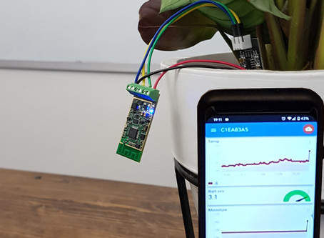 DIY: WiFi Moisture Sensor AAA battery
