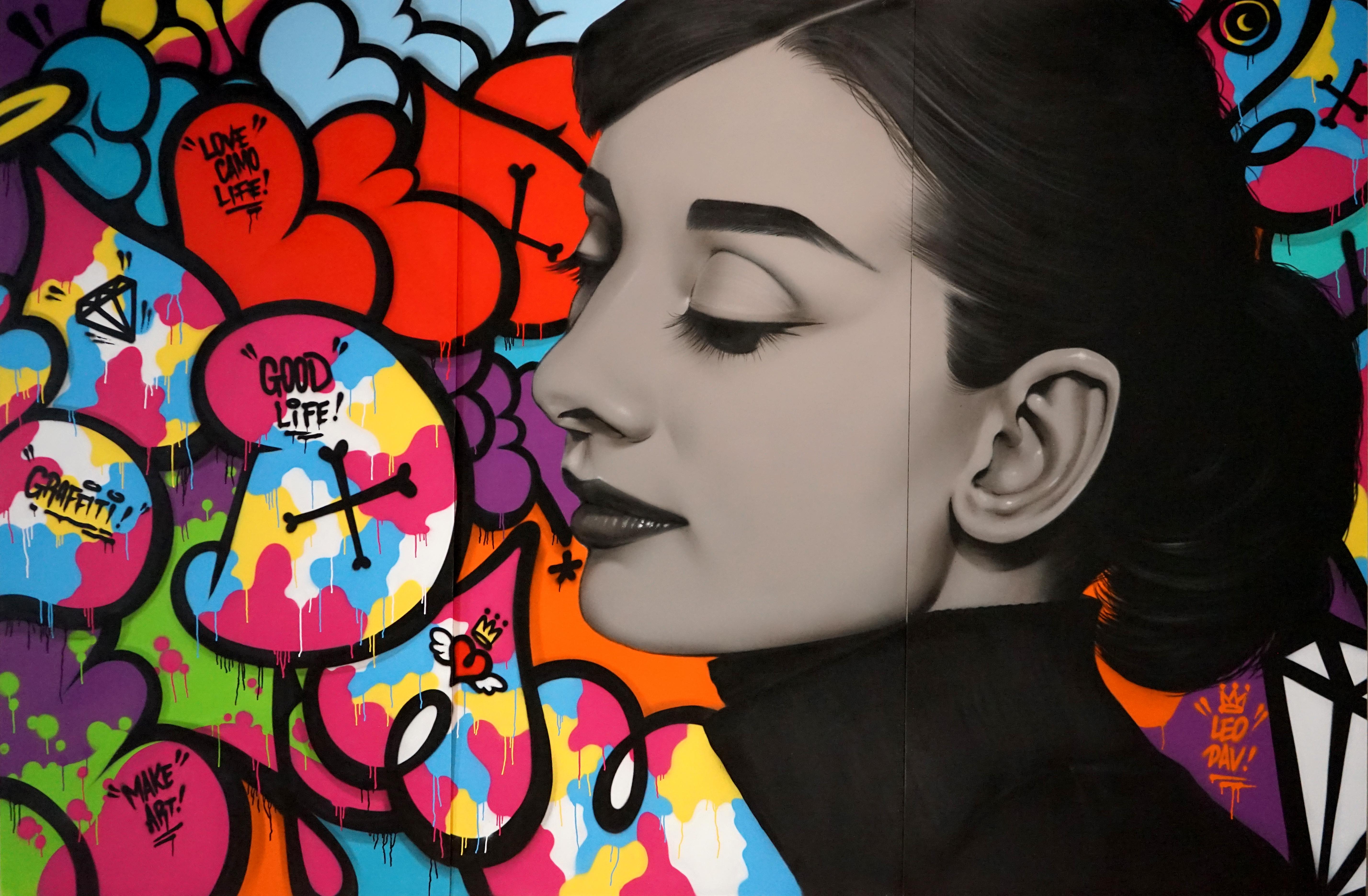 LOVE CAMO LIFE-Audrey Kathleen Hepburn