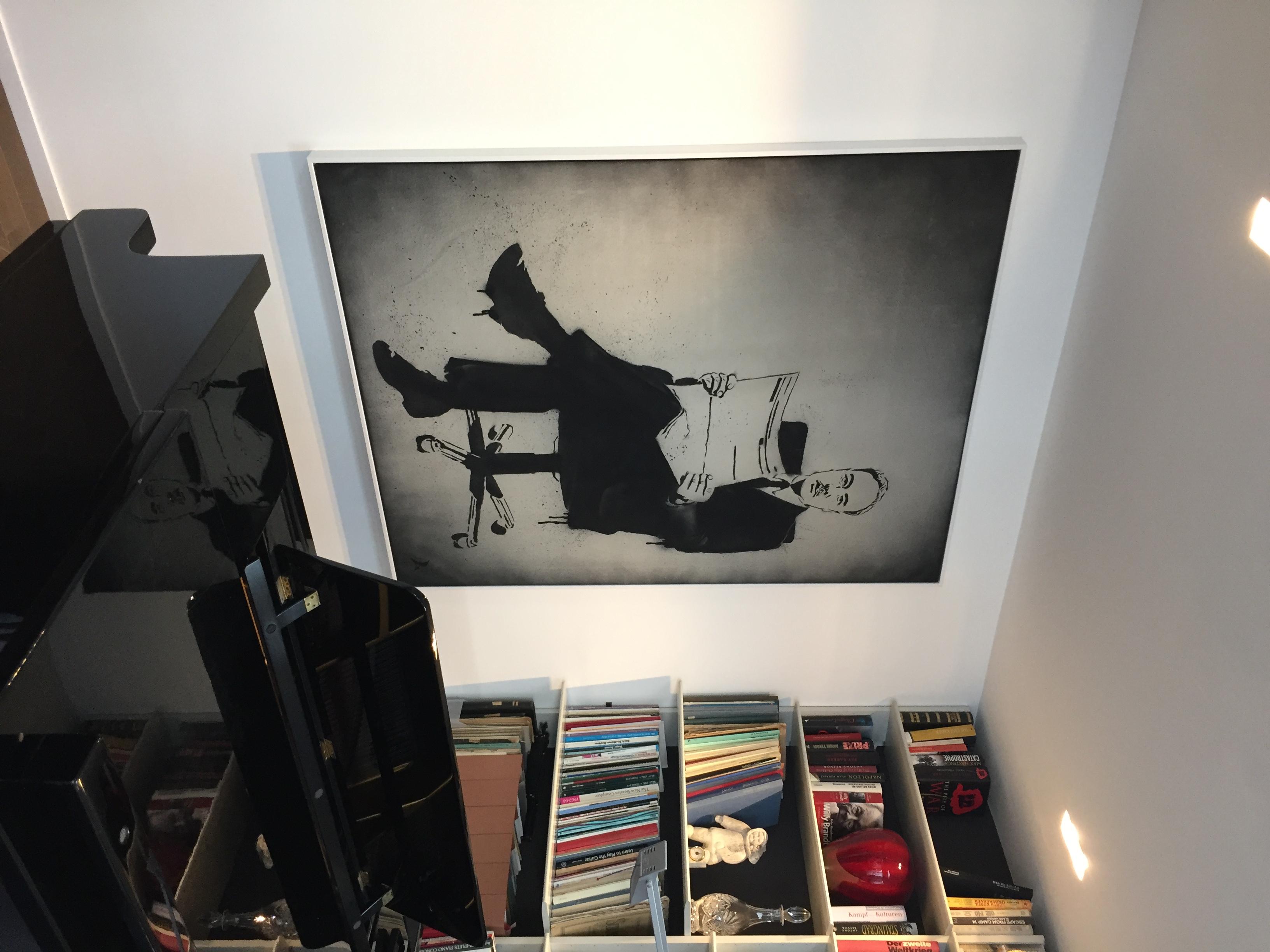 몽양 여운형-영국에 계신 유족분에게 기증한 작품-현지에서 보내주신 사진.