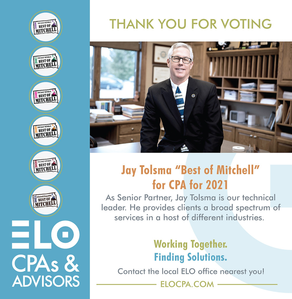 """Jay Tolsma """"Best of Mitchell"""" for CPA 2021"""