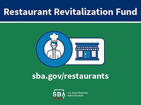 Restaurant Revitalization Fund faces huge funding shortfall