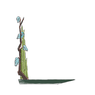 Alphabet Ikebana: L