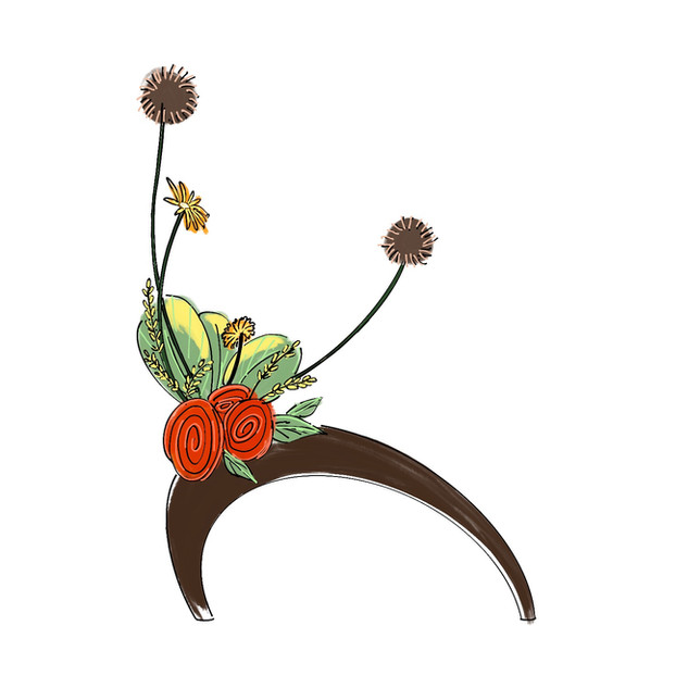 Alphabet Ikebana: K