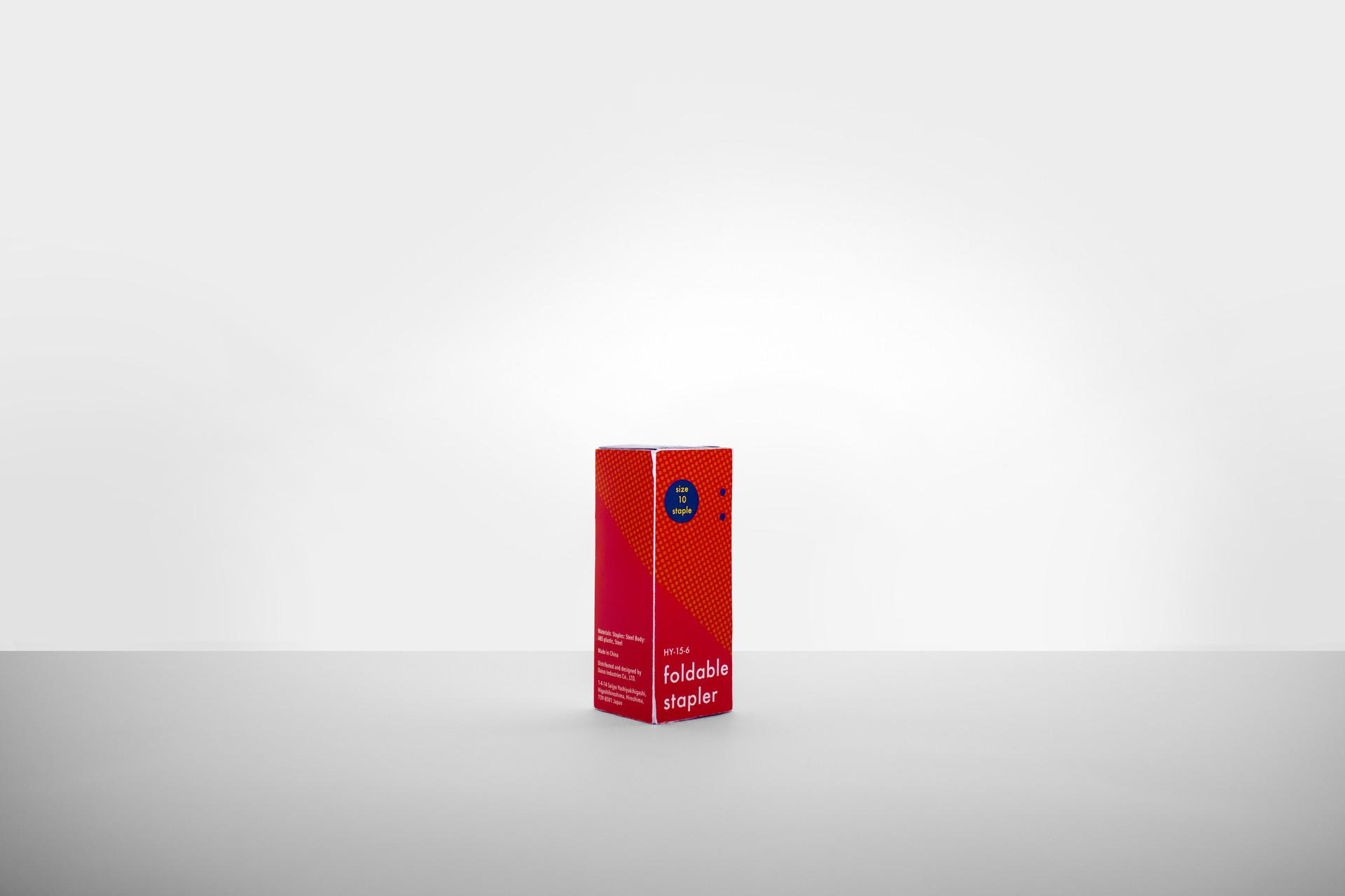 Artesano Foldable Stapler Package Design 1