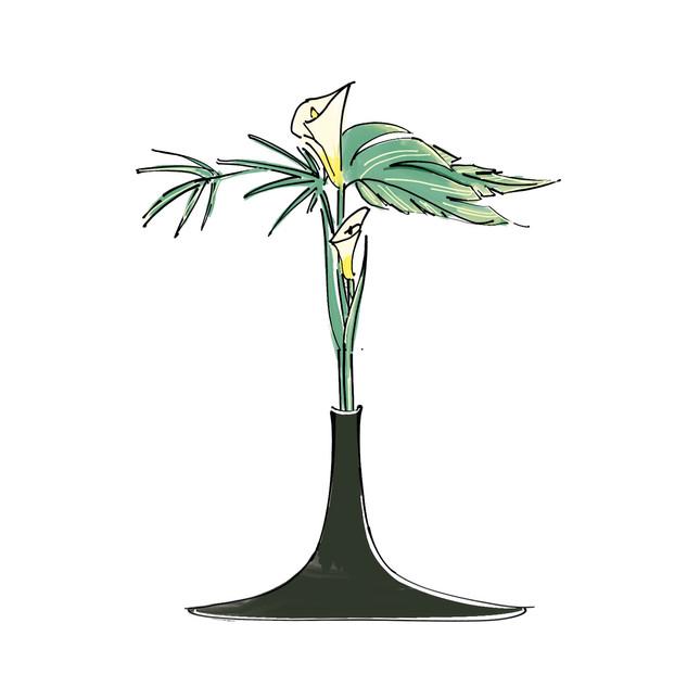 Alphabet Ikebana: I